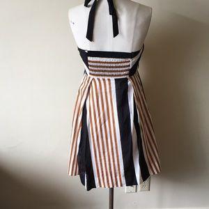 Anthropologie Dresses - Moulinette soeurs halter stripe sun dress 6